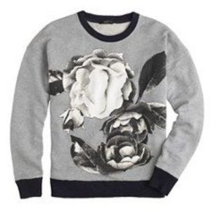 🍁🍁J.Crew || Sweatshirt in Exploded Floral